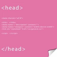 La partie HEAD d'un document html5